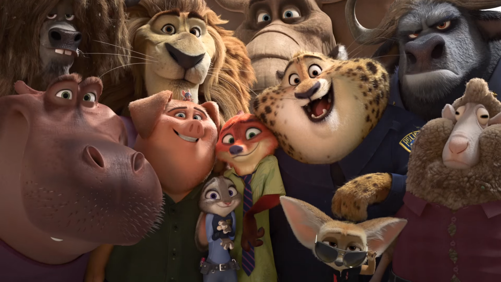 zootopia best animated feature film